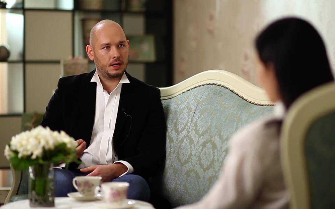 Интервью с режиссёром и директором свадебного агентства TOBELOVE Александром Беловым